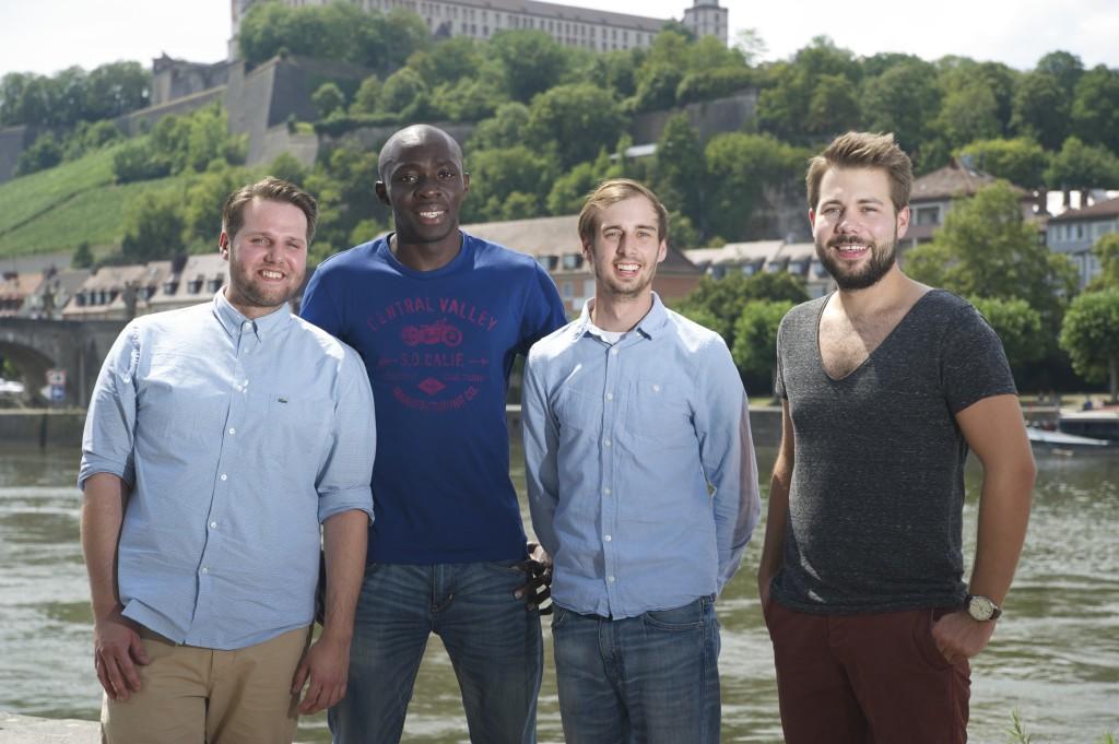 Philipp, Brice, Sebastian, Dominik